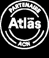 Logo du partenariat entre PLB et l'OPCO Atlas pour les formations en actions collectives